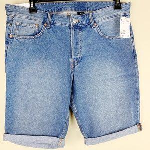 H&M | NWT Men's Slim Fit Jean Short 34